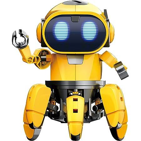ELEKIT(エレキット) フォロ (MR-9107) ロボット工作キット 赤外線レーダーでついてくる!