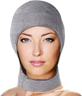 Migraine Gel Head and Neck Ice Hat by FOMI Care   Top and Side of Skull Plus Cervical Cold Coverage   Wearable Cranial Cap for Headache, Sinus, Chemo, Stress, Pressure Pain Relief