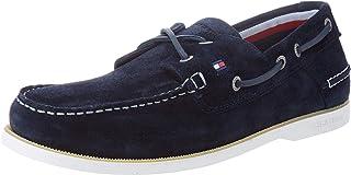 Tommy Hilfiger Classic Suede Boatshoe, Mocassins (Loafers) Homme