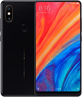 顔認証 5.99インチ・後12.0MP +12.0MP + 前5.0MPカメラ搭載★Xiaomi Mi Mix 2S Global Version★AI対応 Snapdragon 845 MIUI 9 (Android 8.0)搭載・4G LT...