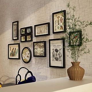 ZHITENG Pantalla Fotográfica Colgante 12 Pcs/Set Home Home Familia Frante Frantes Felicidad Hermoso de la Pared Designo de...