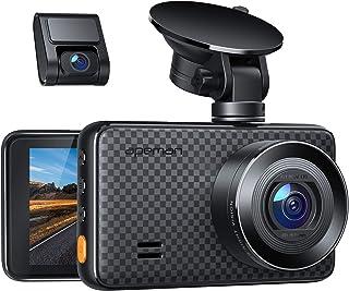apeman Dash Cam FHD 1440p & 1080p Dual Dash Camera IR Sensor, 6G Lens, G-Sensor, WDR, Super Night Vision, Loop Recording, ...