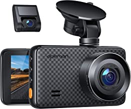 APEMAN 1440P&1080P Dual Dash Cam, 1520P max, Support 128GB, Front and Rear Camera for Cars with 3 Inch IPS Screen, Driving...
