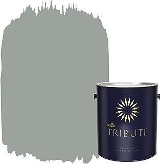 KILZ TRIBUTE Interior Satin Paint and Primer in One, 1 Gallon, Stone Cold (TB-66)