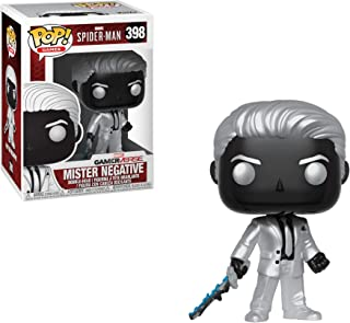 Funko Mister Negative: Spider-Man x POP! Games Vinyl Figure & 1 POP! Compatible PET Plastic Graphical Protector Bundle [#398 / 30679 - B]