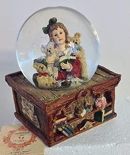 Boyd Bear Water Globe -Music Box -