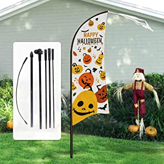 Best halloween feather flags Reviews