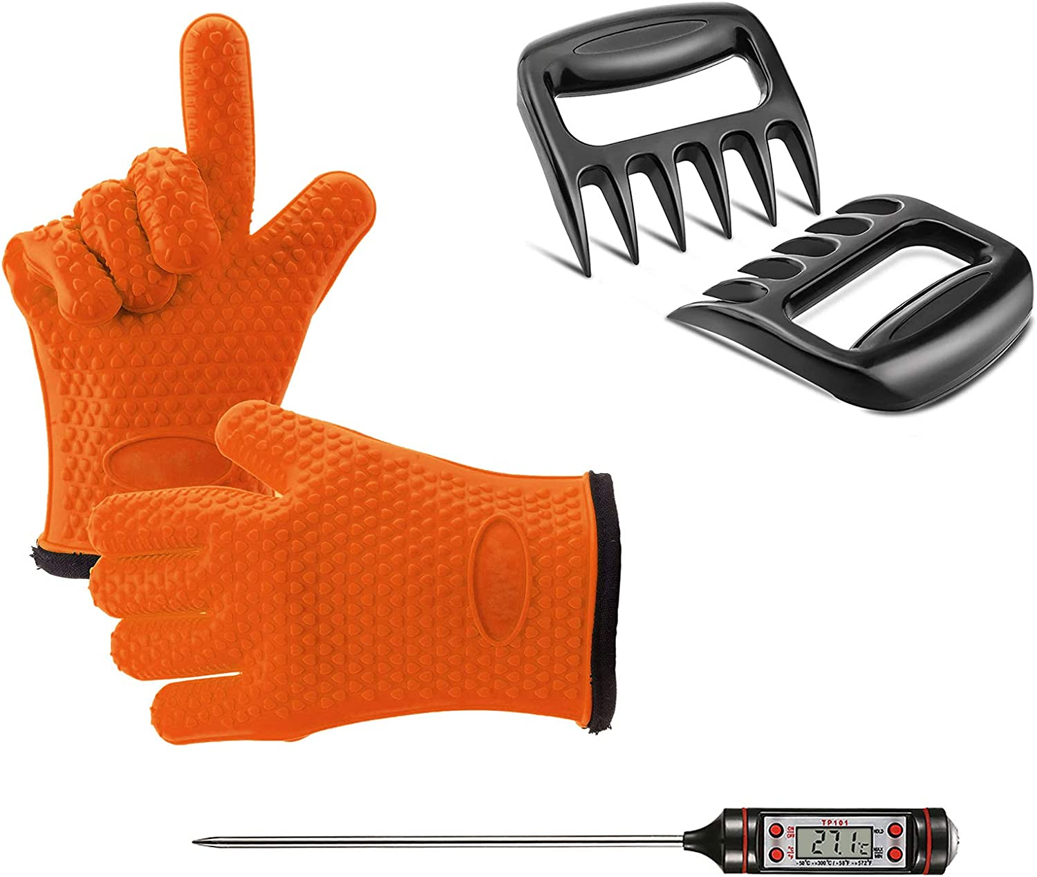Max 78% OFF Grilling Accessories Set 3 Pcs Grill Sh Kit Tools Free Shipping New Includes Meat