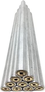 """3 ft LONG x HPS 4/"""" 102mm OD 6061-T6 Aluminum Straight Tubing Pipe 16 Gauge"""