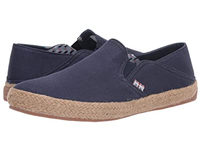 Ben Sherman Prill Heel Slip (Navy Canvas) Men
