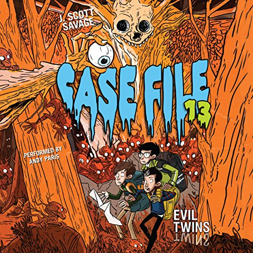 Evil Twins     Case File 13, Book 3              By:                                                                                                                                 J. Scott Savage                               Narrated by:                                                                                                                                 Andy Paris                      Length: 5 hrs and 17 mins     8 ratings     Overall 4.8