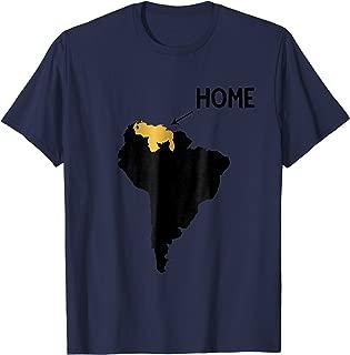 VENEZUELA GOLDEN MAP HOME GOLD T-Shirt