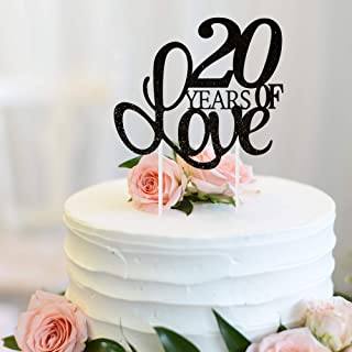 Best 20th wedding anniversary cake topper Reviews