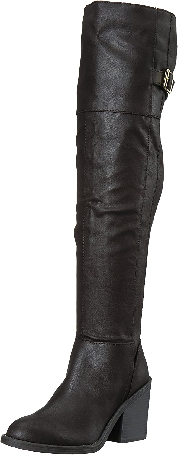 Qupid Womens Marcel-09x Over The Knee Boot