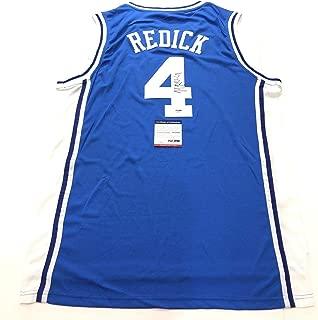 JJ Redick Signed Jersey Duke Blue Devils Autographed - PSA/DNA Certified - Autographed NBA Jerseys