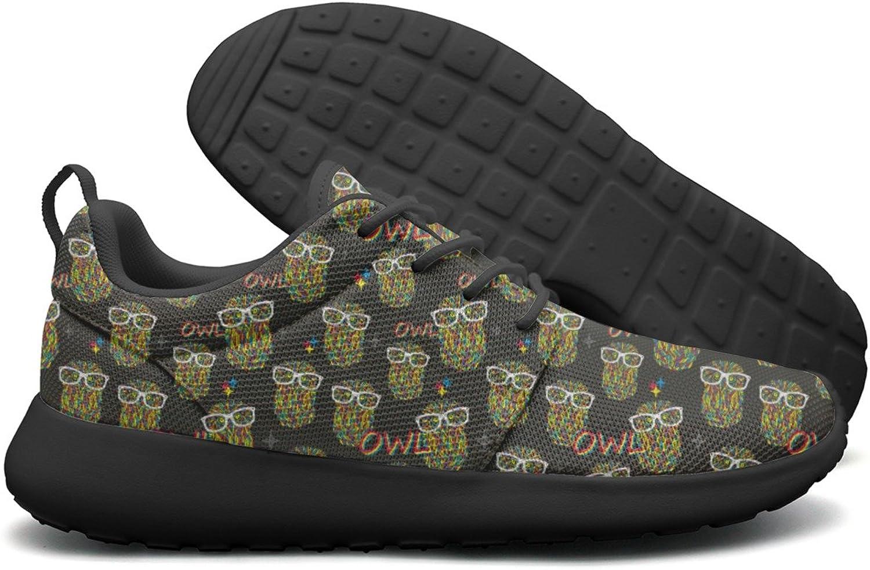 Hipster Owls Women's Camping Fashion Running shoes Climbing Gift