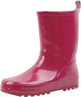 G4U-B0A01S Children's Kids Rain Boots Multiple Styles Color Rubber Strap Waterproof Boys Girls Snow Shoes