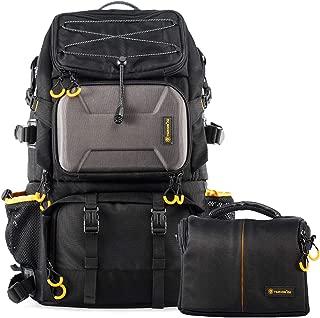 TARION Pro PB-01 Camera Bag Backpack with Shoulder Camera Case Bag 15.6