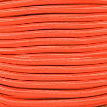 West Coast Paracord Marine Grade Shock Cord 1/4-inch - Lengths up to 1000 feet - Made in USA (25 Feet, Neon Orange)