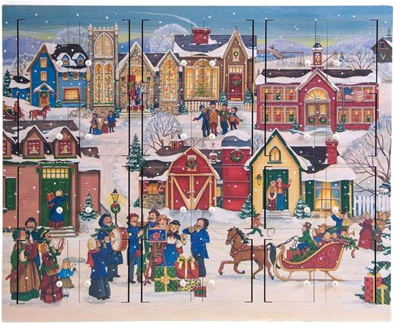Byers' Choice Christmas Village Advent Calendar  AC21