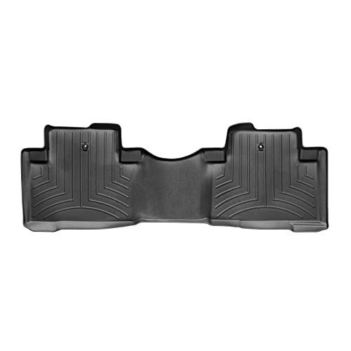 WeatherTech Custom Fit Rear FloorLiner for Honda Pilot (Black)