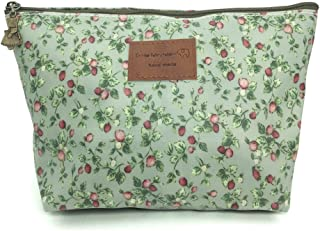 HUNGER Green Flowers Make-Up Cosmetic Bag Carry Case , 14 Patterns (P11417017)