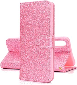 COTDINFOR Case for Huawei Mate Wallet Case Shiny Sparkle Flip Leather ...