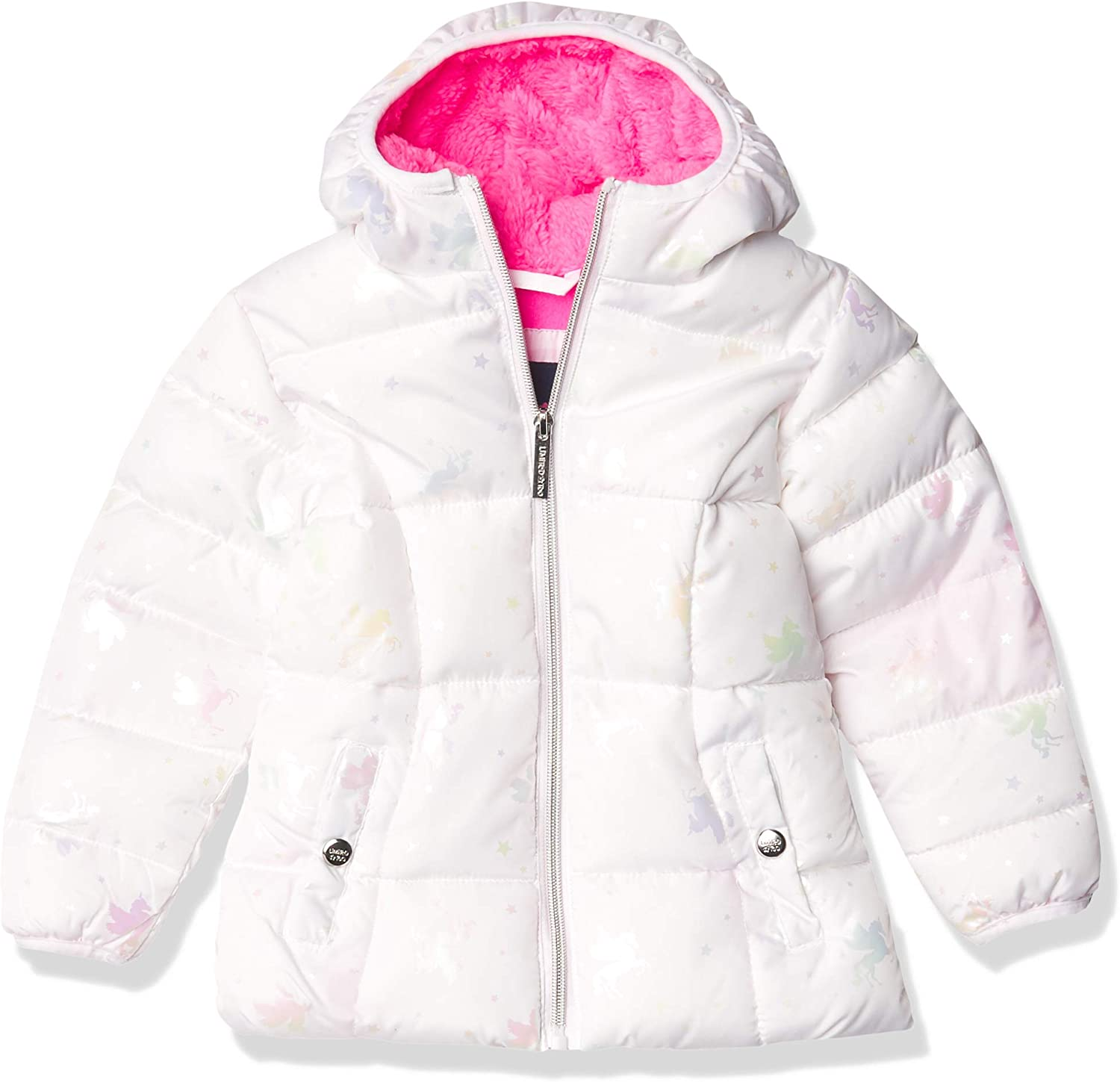Limited Too Girls' Foil Puffer Jacket