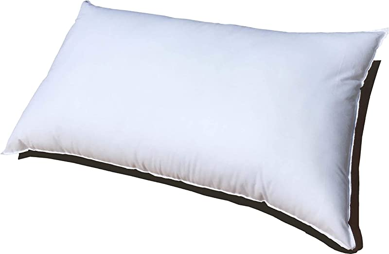 Pillowflex 16x26 Inch Premium Polyester Filled Pillow Form Insert Machine Washable Oblong Rectangle Made In USA
