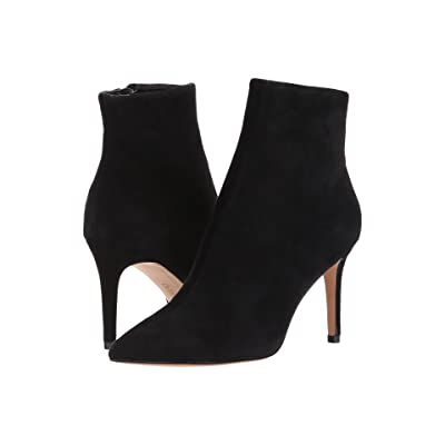 Steven Logic Dress Bootie (Black Suede) Women