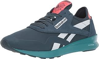 Women's Classic Nylon Sneaker, Blue Hills/Bright Rose/White/Black/Mineral Mist, 10 M US