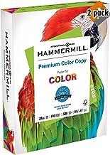 product image for Hammermill Paper, Premium Color Copy Paper 8.5 x 11 Paper, Letter Size, 28lb Paper, 100 Bright, 1 Ream / 500 Sheets 102467R Acid Free Paper