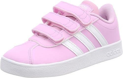 Adidas VL Court 2.0 CMF C, Chaussures de Fitness Mixte Enfant