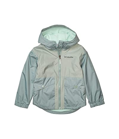 Columbia Kids Rainy Trailstm Fleece Lined Jacket (Little Kids/Big Kids) (Light Lichen) Girl