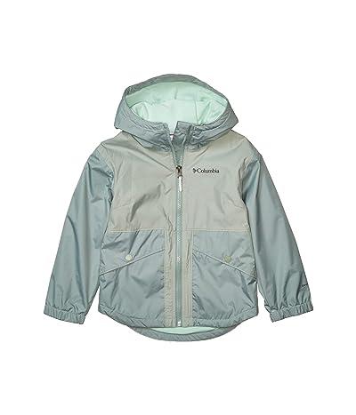 Columbia Kids Rainy Trails Fleece Lined Jacket (Little Kids/Big Kids) (Light Lichen) Girl