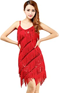 latin fringe dress