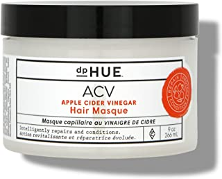dpHUE Apple Cider Vinegar Hair Masque, 9 oz - Deep Conditioning Hair Treatment for Dry, Damaged Hair - Natural Hair Mask For Color-Treated Hair made with Avocado, Rosehip & Coconut Oils