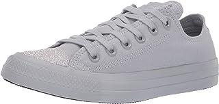 Converse Women's Unisex Chuck Taylor All Star Glitter Accent Low Top Sneaker
