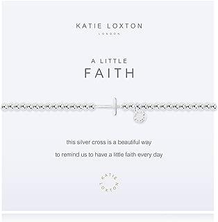A Little Follower of Christ Silver Women's Stretch Adjustable Charm Bangle Bracelet
