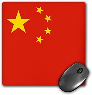 3dRose 8 x 8 x 0 25 Inches Flag of The Peoples Republic of China Chinese Red with Golden Yellow Stars Patriotic World Coun...