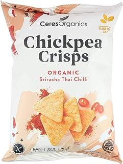 Ceres Organics Organic Chickpea Crisps Sriracha Thai Chilli, 100 g