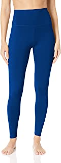 "Core 10 Womens DP0002 Yoga Foldover High Waist Full-Length Legging - 27"" Leggings"
