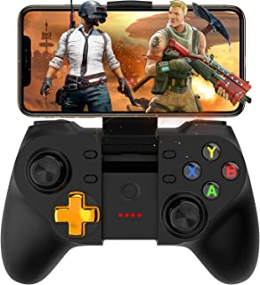 Mobile Game Controller, Megadream Wireless Key Mapping Gamepad Joystick Perfect for PUBG & Fotnite & Call of Duty, Compatible for iOS Android iPhone iPad Samsung Galaxy