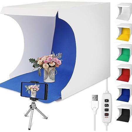Linkstyle Fotostudio 32 X 31 Cm Lichtzelt Faltbare Elektronik