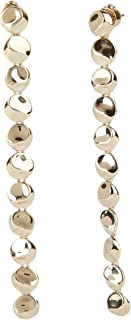 Carolee Women's Mini Linear Disc Earring