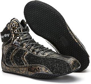RTY Slip Resistant Boxing Shoes for Men,Black,37