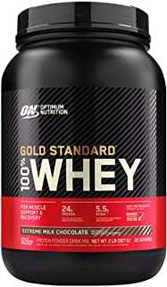 Optimum Nutrition 100 Whey Protein Gold Standard Extreme Milk Chocolate 2 lb(s).