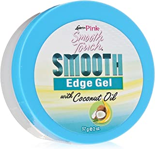 Luster's Smooth Touch Edge Gel with Coconut Oil, 2 Ounce