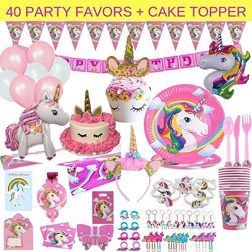Unicorn Birthday Supplies Amazon