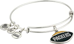 Color Infusion Green Bay Packers Football II Bangle